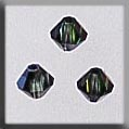 Mill Hill Crystal 13072 : Roundel Peridot/Citrine 4mm