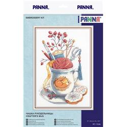 Crafter's Mug - Kit point de croix - Panna