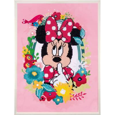 Minnie Pense Disney  - Kit Broderie Diamant - Vervaco