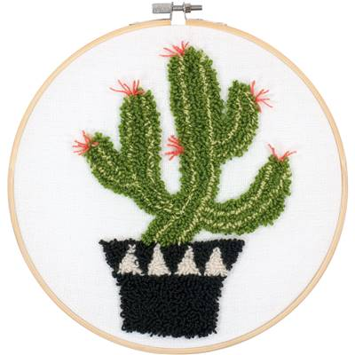 Cactus - Kit Punch Needle - Dimensions