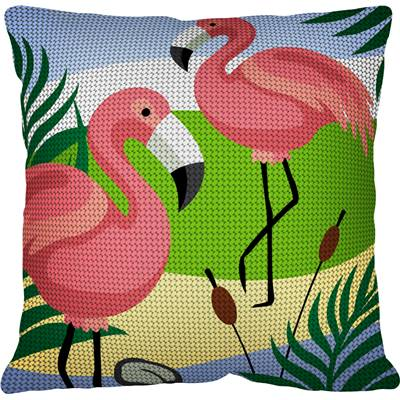 Flamant Rose - Kit coussin gros trous - Margot de Paris