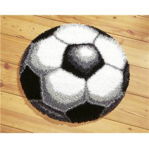 Ballon de foot Tapis au point noué - Vervaco