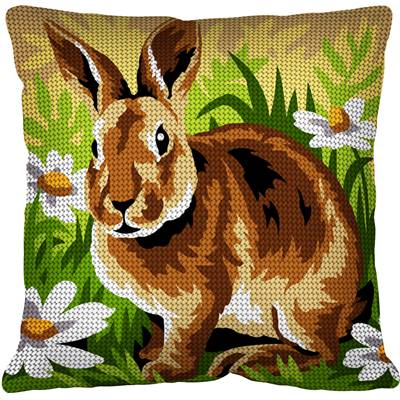 Le Lapin - Kit coussin gros trous - Margot de Paris