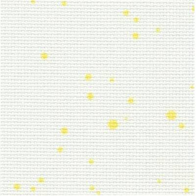 Toile Zweigart Aïda Splash 7 pts Light Yellow (1349)