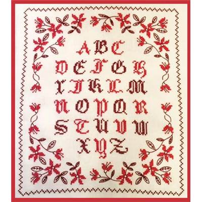 <div class=alt><div class=desc><h2>Kit de broderie traditionnelle abécédaire - le bonheur des dames</h2></a><br>Cet abécédaire imprimé à dominante rouge a été créé par cécile vessière pour le bonheur des dames. ses dimensions sont de 38 cm x 43 cm. le kit contient toile de lin, diagramme, fils et aiguille<br><br></div></div>