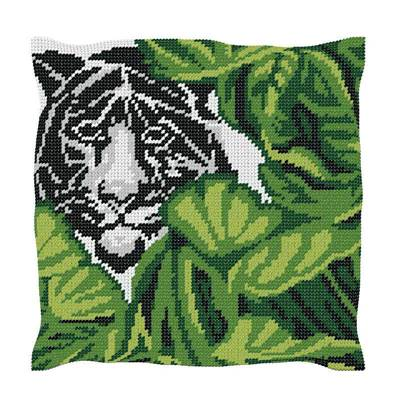Tigre - Kit Coussin gros trous  - Luc Créations