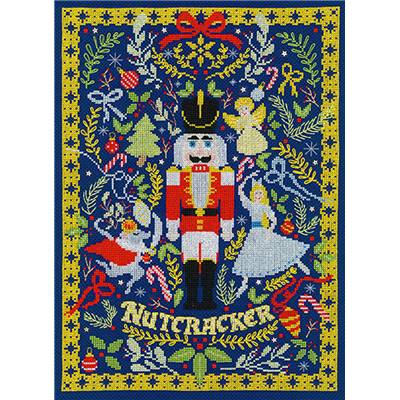 The Christmas Nutcracker - Kit point de croix -  Bothy Threads