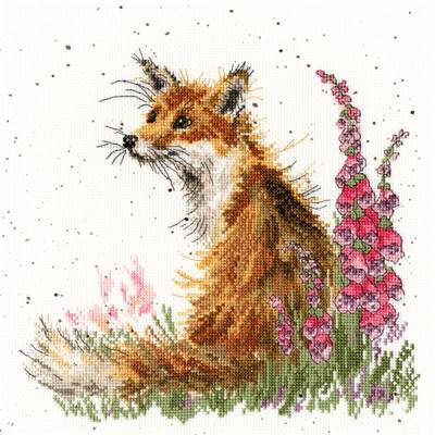 Among the Foxgloves - Kit point de croix - Bothy Threads