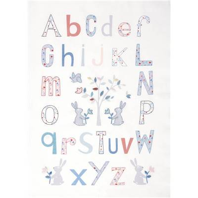 Alphabet Folk - Kit Broderie Traditionnelle - DMC