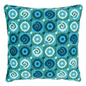 Bargello Tourbillons - Coussin point lancé - Vervaco