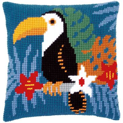Toucan - kit Coussin gros trous - Vervaco