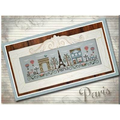 Afternoon in Paris fiche - Country Cottage Needleworks