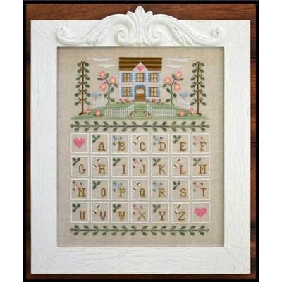 Cottage Alphabet grille - Country Cottage Needleworks