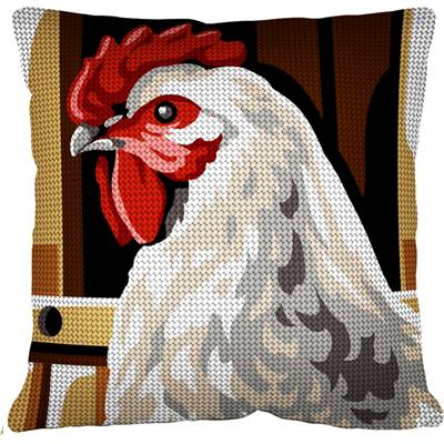 La Poule - Kit coussin gros trous - Margot de Paris