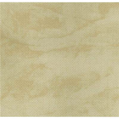 Toile Zweigart Aïda Vintage Country Mocha 8 pts (3009)