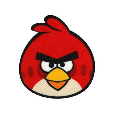 Ecusson thermocollant Motif Angry Birds
