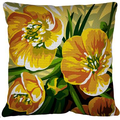 Bouton d'Or - Kit coussin gros trous - Margot de Paris