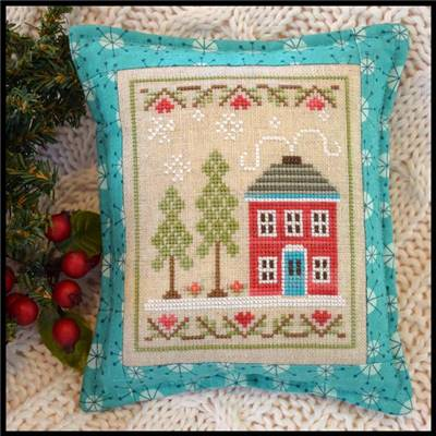 Snow Place Like Home - 2 - Fiche point de croix - Country Cottage Needleworks