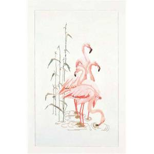 Flamants roses (kit) - Thea Gouveneur