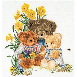 Ours Teddy Bears (kit) - Thea Gouverneur