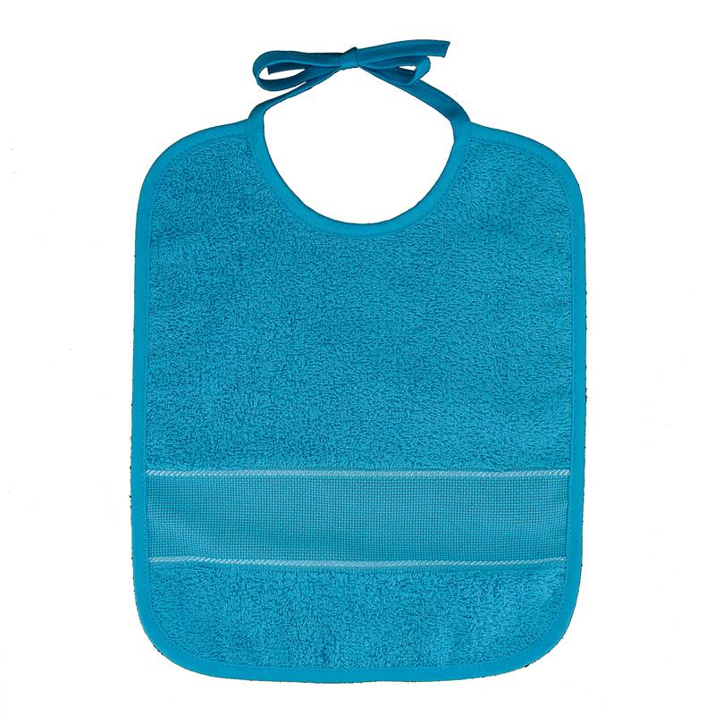 bavoir broder 6 mois grand mod le bleu turquoise. Black Bedroom Furniture Sets. Home Design Ideas