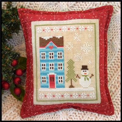 Snow Place Like Home - 1 - Fiche point de croix - Country Cottage Needleworks