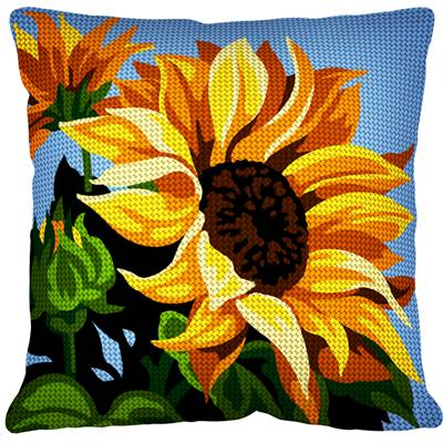 Le Tournesol - Kit coussin gros trous - Margot de Paris