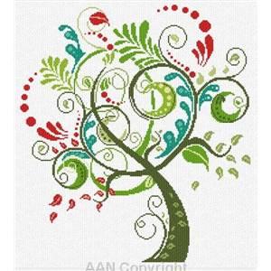 <div class=alt><div class=desc><h2>Modèle de broderie au point de croix arbre heureux - aan</h2></a><br>Cet arbre inspirera le bonheur à votre maison. le nombre de points est de 192 x 2164 soit 32 x 36 cm sur une toile 6 pts/cm, et 27,4 x 30,9 cm sur une toile 7 pts/cm. toile et fils sont proposés en sus. <br><br></div></div>