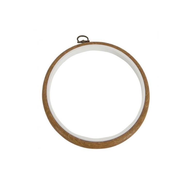 Cadre tambour dmc en plastique rond 13 cm mv0033l 130 - Cadre photo rond ...