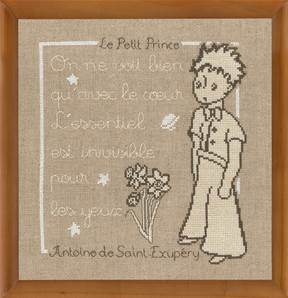 Message Le Petit Prince (kit) - Princesse
