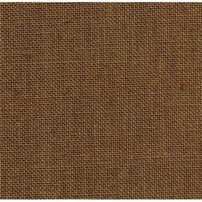 Toile Zweigart lin Edinburgh 14 fils Bark Brown (3097)