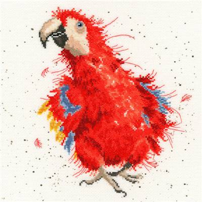 Parrot on Parade - Kit point de croix - Bothy Threads