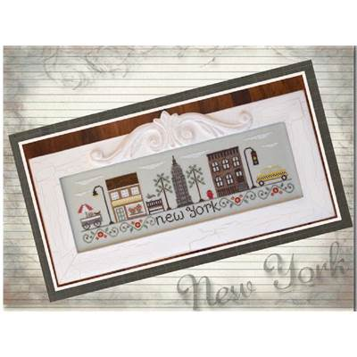 Afternoon in New York grille - Country Cottage Needleworks
