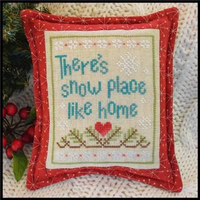 Snow Place Like Home - 3 - Fiche point de croix - Country Cottage Needleworks
