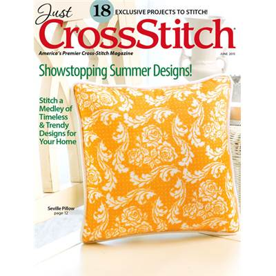 Magazine Just Cross Stitch Juin 2015