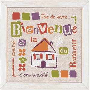 La Maison De La Broderie : fiche broderie point de croix de lilipoints bienvenue la ~ Zukunftsfamilie.com Idées de Décoration