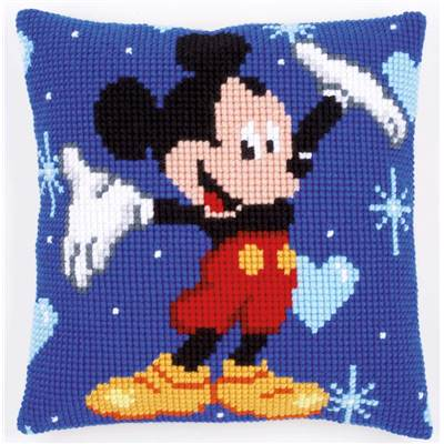 Mickey Mouse - kit Coussin gros trous Disney - Vervaco