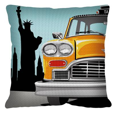 New-York Taxi - Kit coussin gros trous  - SEG de Paris