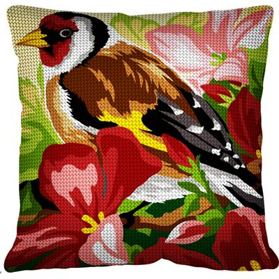 Le Chardonneret - Kit coussin gros trous - Margot de Paris
