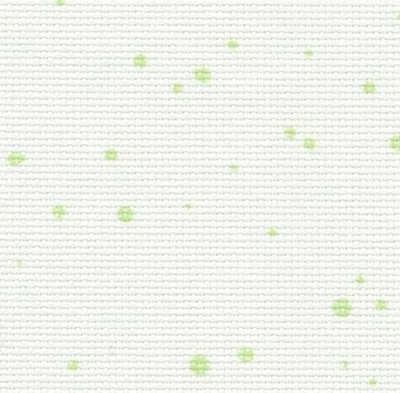 Toile Zweigart Aïda Splash 7 pts Light Green (1359)