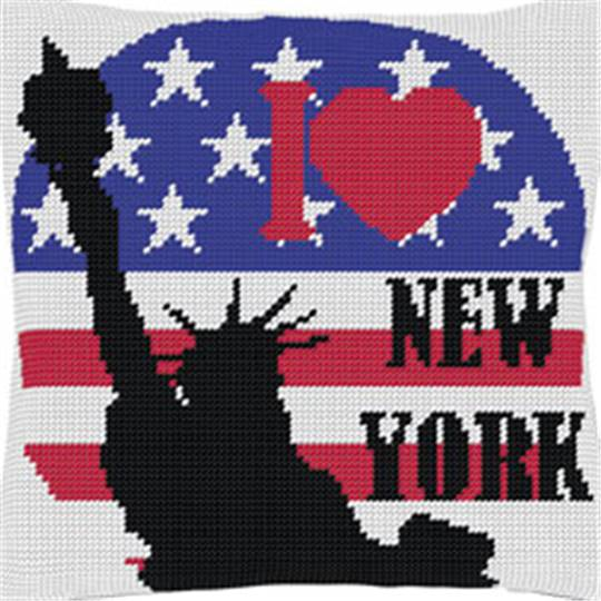 New York 2 - Kit coussin gros trous - Luc Créations