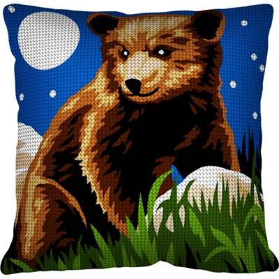 L'ours - Kit coussin gros trous - Margot de Paris