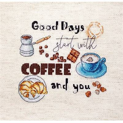 Coffee Time - Kit point de croix - LETISTITCH