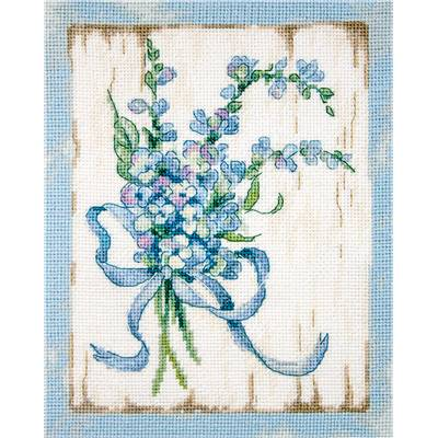 Blue 1 - Kit point de croix - LETISTITCH