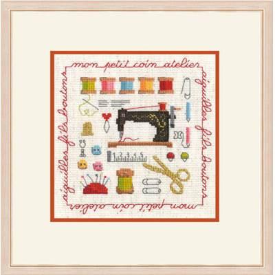 """Miniature """"Collection Couture"""" kit 2272 Le Bonheur des Dames chez Univers Broderie"""