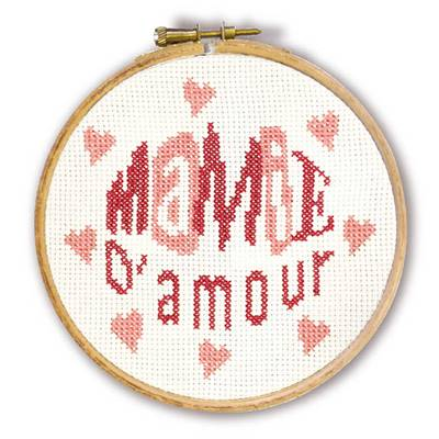 Mamie d'Amour - Mini-Kit Enfant - Lilipoints