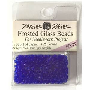 Perles 60020 à 65270 Frosted Glass Beads Mill Hill