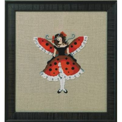 Miss Ladybug - Intriguing Insects - Fiche Nora Corbett