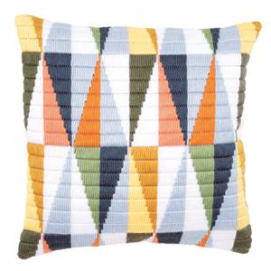 Coussin point lancé Triangles - Vervaco
