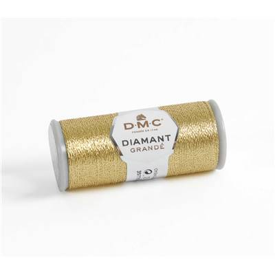 Fil à Broder DMC Diamant Grandé G3821 - Or Clair